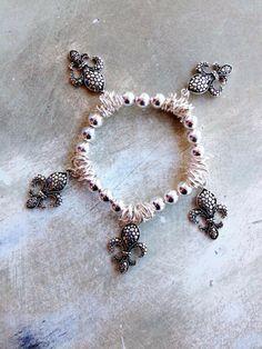 Fleurty Girl - Everything New Orleans - Tortoise Fleur de Lis Stretch Bracelet Saints Gear, Stretch Bracelets, Beaded Bracelets, Voodoo Dolls, Eye Make Up, Mardi Gras, Nail Art, Tortoise, Accessories
