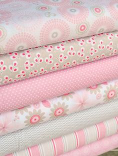 Willow collection, pink and gray