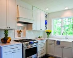 This Harbor Springs Kitchen was dark and dreary before it saw the light.
