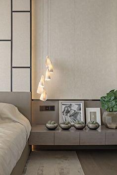 Contemporary Bedroom in CN by Kelly Hoppen Interiors Loft Interior Design, Top Interior Designers, Gray Interior, Contemporary Interior Design, Home Interior, Top Designers, Kelly Hoppen Interiors, Loft Interiors, Modern Interiors