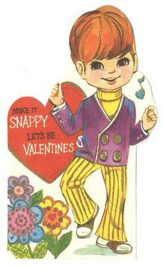 Valentines card Midget