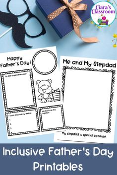 An inclusive resource for marking or celebrating Father's Day with all of the children in your class?Do you have students in your class who might want to celebrate another important man in their life on Father's Day? If so, this is the resource for you! This pack includes portrait drawing sheets and writing templates. Includes resources with dad, daddy, father, stepdad, stepdaddy, stepfather, grandad, grandpa, uncle, brother and a special lady in my life. Available to download from TpT. Primary School Teacher, Teacher Pay Teachers, Multicultural Classroom, Lady In My Life, Teaching Resources, Classroom Resources, Inclusion Classroom, Drawing Sheet, Drawing Activities