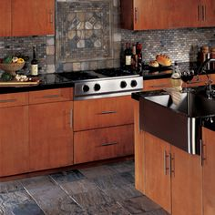 Check out this American Olean product: Tumbled Slate in India Autumn 12