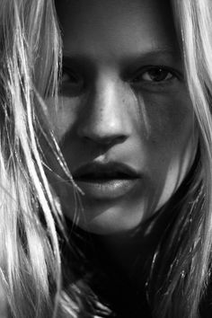 Kate Moss from her new book, Kate: The Kate Moss Book— available now.