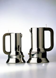 9090  1978 Espresso coffee maker Alessi  Prize Compasso d'Oro 1979 Honourable Mention at Bio 9 Ljubljana 1981  Included in the Permanent Design Collection at the Museum of Modern Art in New York