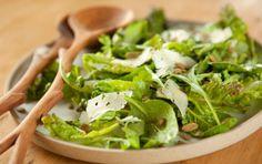 ... salad with pumpkin seeds and asiago fall greens salad with pumpkin