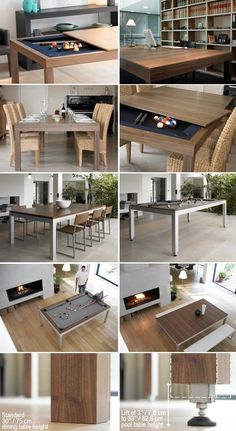 very cool - even has adjustable legs so the dining table isn't too high