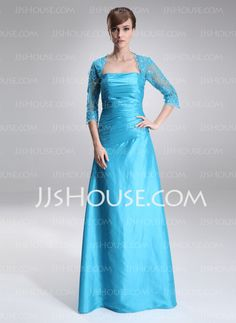 Mother of the Bride Dresses - $142.99 - A-Line/Princess Square Neckline Floor-Length Taffeta Tulle Mother of the Bride Dress With Lace Beading (008006236) http://jjshouse.com/A-Line-Princess-Square-Neckline-Floor-Length-Taffeta-Tulle-Mother-Of-The-Bride-Dress-With-Lace-Beading-008006236-g6236