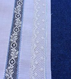 Creations By Michie` Blog: Lace Edging to Fabric tutorial