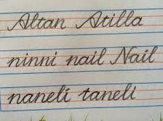 yeni el yazısı büyük küçük harf  birleştirme ile ilgili görsel sonucu
