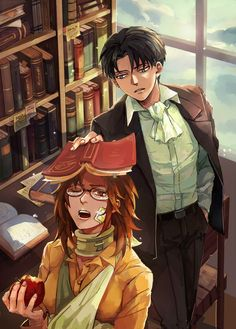 OTP levi and Hanji AoT Snk