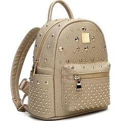 purse bookbag - Google Search Gold Backpack Stylish School Bag for College Student - VIPme.com from VIPme.com Student Find Backpacks at VIPme.com! Golden Rivet Stylish Backpack for Ladies: 1.MATERIAL:PU 2.DIMENSIONS:25*15*29cm Brand:IVMONO  See more details at VIPme.com » $38.99 +$14.01 shipping. No tax