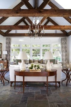 Farmhouse fabulous modern farmhouse living room decor, diy home decor rustic, contemporary living rooms Home Design, Interior Design, Design Ideas, Floor Design, Design Projects, Ceiling Design, Modern Design, Rustic Design, Luxury Interior