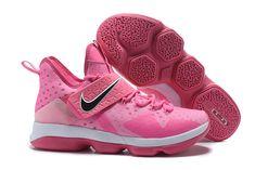 """4969ea95274 Nike LeBron 14 """"Think Pink"""" Men s Basketball Shoes Lebron 14"""