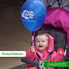 Printed Balloons for Capital FM (With our Latex Balloon Valves & Ribbons)