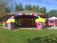 Carnival party entrance