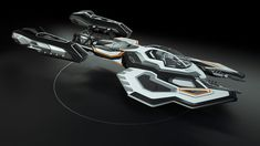 animated Spaceship concept design, formats MAX, concept design fi sci sci-fi, ready for animation and other projects Spaceship Art, Spaceship Design, Futuristic Motorcycle, Futuristic Art, Concept Ships, Concept Art, Mode Cyberpunk, Starship Concept, Sci Fi Models