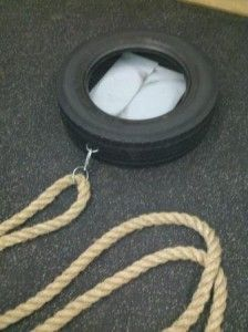 how to make a weight sled