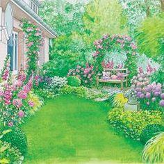 Langweilige Gartenecke attraktiv gestalten
