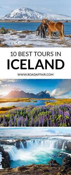 Discover the 10 best tours in Iceland. Don't miss out and click the pin to find the best things to do in Iceland in our comprehensive travel guide. By The Road Affair.