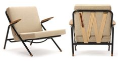 Rare Hans Wegner easy chair, c. 1950's. via Wyeth
