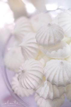 White Meringue Cookies - Seattle Wedding Cake and Dessert Bars - The Sweet Side gallery
