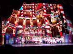 Rockette's Christmas Stage Set