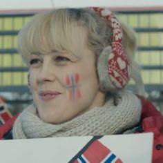 Lilyhammer: Sigrid's earmuffs - love her Book Tv, Earmuffs, Norway, Love Her, Crime, People, Movies, Black People, Films
