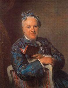 Maurice Quentin de La Tour, Portrait de M. Laideguive, salon de 1761, Barcelone, musée d'Art moderne, by inharecherche, via Flickr