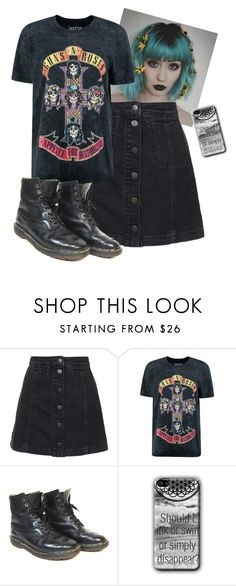 """Untitled #720"" by akts on Polyvore featuring Topshop, Boohoo and Dr. Martens"