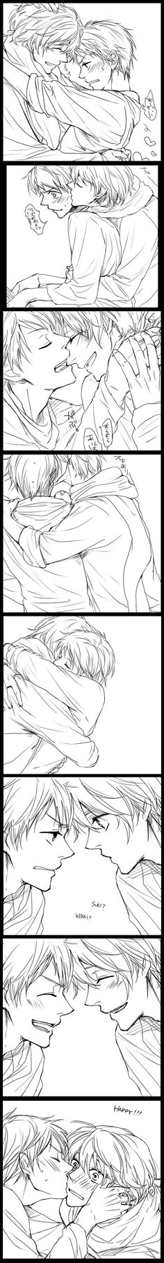 Aaaawww i don't ship this (RusPru) BUT THEY BOTG DESERVE LOVE SO I WILL REPOST IT >A<