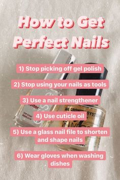 SOS for short weak nails—how to grow strong, long nails. Here's six top beauty tips for having healthy natural nails.