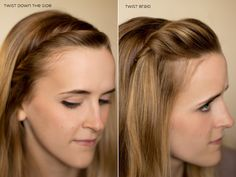 15 ways to pin your bangs back - some really cute ideas. i wish i would braid my hair in some of these ways!