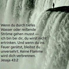 Wasser oder Feuer - Gott ist bei mir!