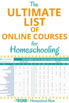 No need to search all over the Internet for the best online courses for homeschooling. Get this complete list with 150+ websites where you can find best courses for your homeschoolers.