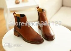 $60 SLOW SHIPPING Best Wholesale 2015 New Fashion Girl Women Street Look Shoes Ankle Boots Martin Boots Autumn Platform Colors Green Red Brown Black Under $64.81 | Dhgate.Com