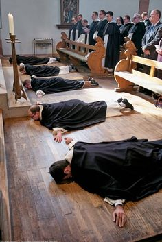 Dominikaner Wien - friars make first profession of vows in Germany