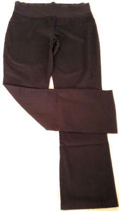 Lovioa Maternity Straight Leg dress pants Sz 8!! BLACK EUC!  *SOLD*