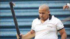 Leone Mendes, o brutamonte da barra de ferro