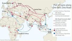 Map of the New Silk Roads 3