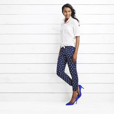 Chase Anchor Chambray, Pixie Pant