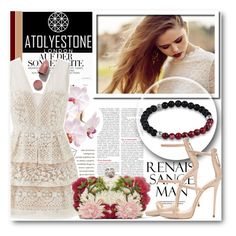 """""""Atolyestone 15"""" by fashionmonsters ❤ liked on Polyvore featuring Giuseppe Zanotti, BCBGMAXAZRIA and Alexander McQueen"""