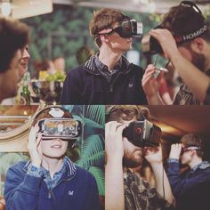 An awesome Virtual Reality pic! Virtual realness. #VR #virtualreality #tech #gaming #journalism #london #bloomsbury #digital #art #meetup #friends #winter #christmas #colour #love #follow #instafollow #instagood #instalike by bjacksonuk check us out: http://bit.ly/1KyLetq