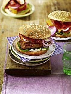 Schnitzel-Burger Rezept