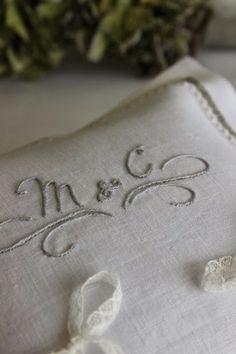letrecivette : wedding cuscino fedi
