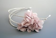 Richard Designs Headband #weddinghair #headband #richarddesigns #floralheadband