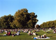 On a brilliant summer's day, London Fields, one of many Victorian-era public parks, can turn into a bucolic version of the Riviera.