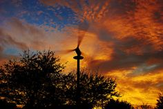 American wind energy details. http://www.diywindturbine.us/domestic-wind-power.html Sunset and Wind Power