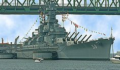 USS Massachusetts, Battleship Cove, Fall's River, MA.