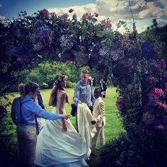 """Guy Ritchie and Jacqui Ainsley Say """"I Do"""" in a Gorgeous Wedding - July 2015"""